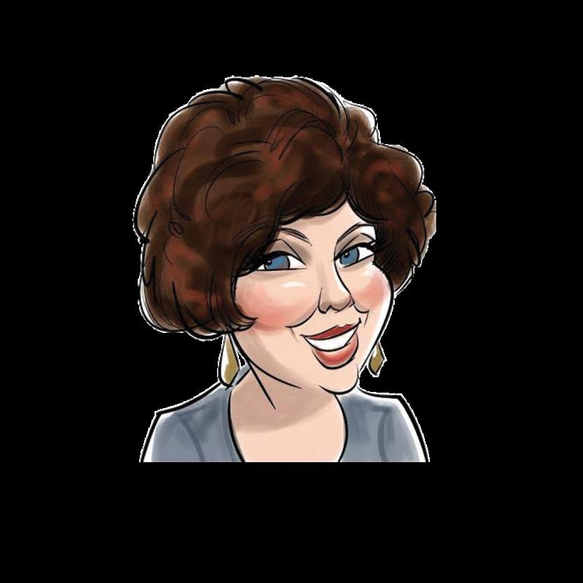 founder, cartoon, anne marie hayes
