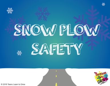 snow plow, safety, winter driving