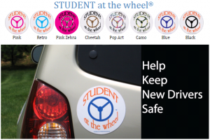 students at the wheel safety products